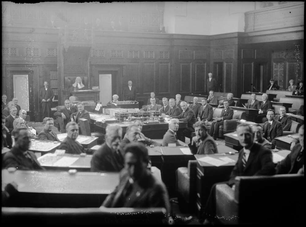 Politicians in the House of Representatives, c. 1920s